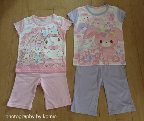 女の子用パジャマ