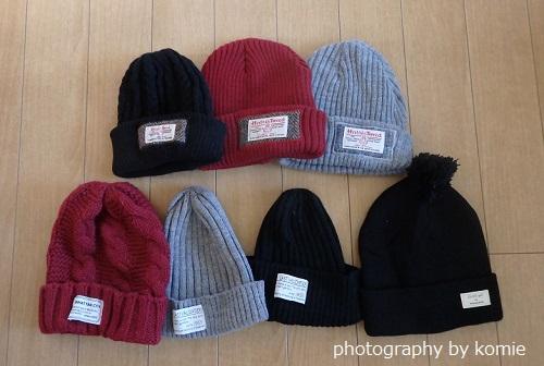 しまむらニット帽コレクション