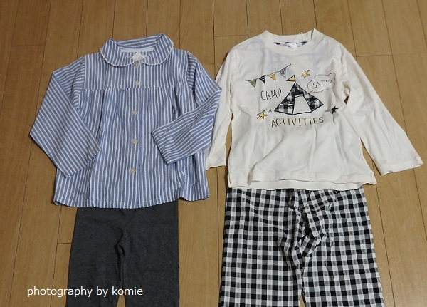 ママガール掲載パジャマ